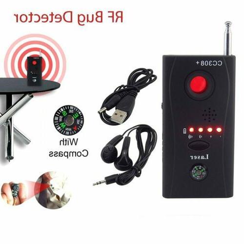 CC308+ Signal Bug Detector Camera Lens GSM Finder