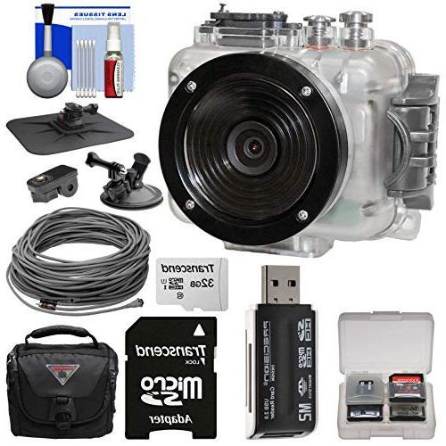 connex waterproof action camcorder