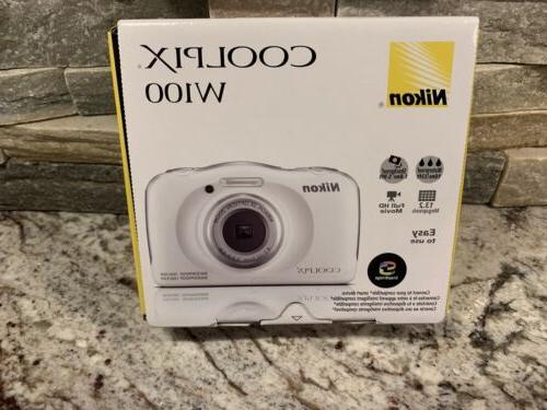 coolpix w100 13 2 megapixel waterproof digital