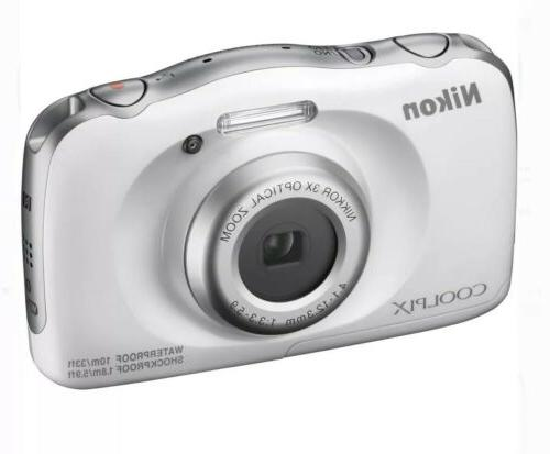 coolpix w100 13 2 mp point