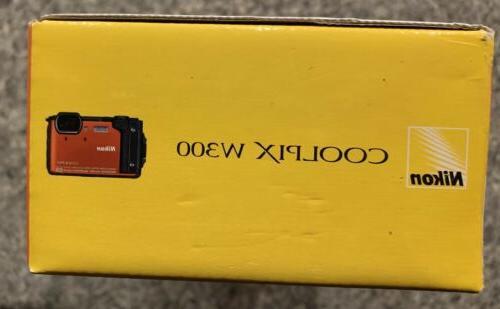 Nikon COOLPIX 16.0MP WaterProof/ShockProof - Orange