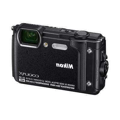 coolpix w300 point shoot camera black 26523