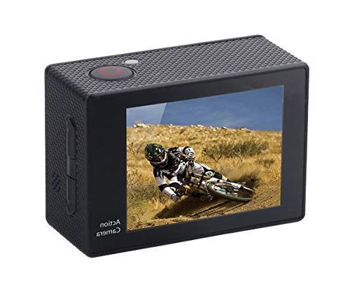 Ultra HD Action Camera Mounts, Black