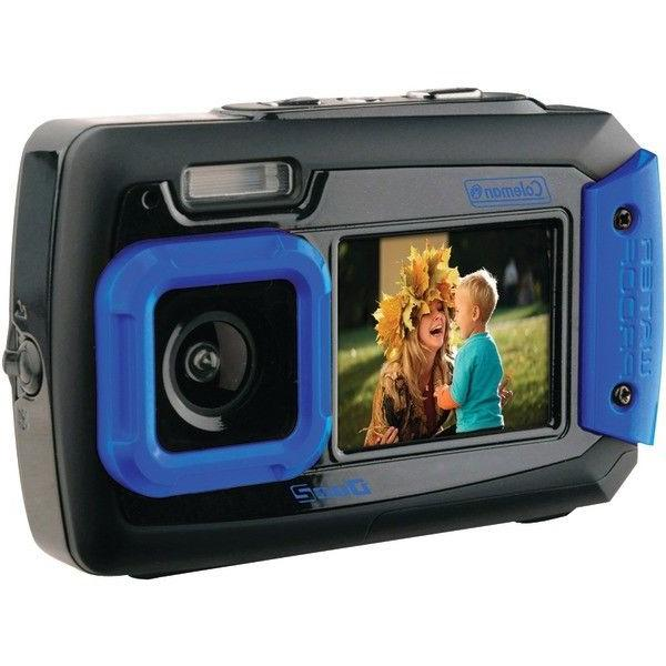 digital camera waterproof dual screen 20 0