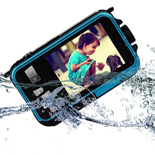 PowerLead Double Digital Camera 2.7-Inch LCD 2.7-Inch Camera Easy