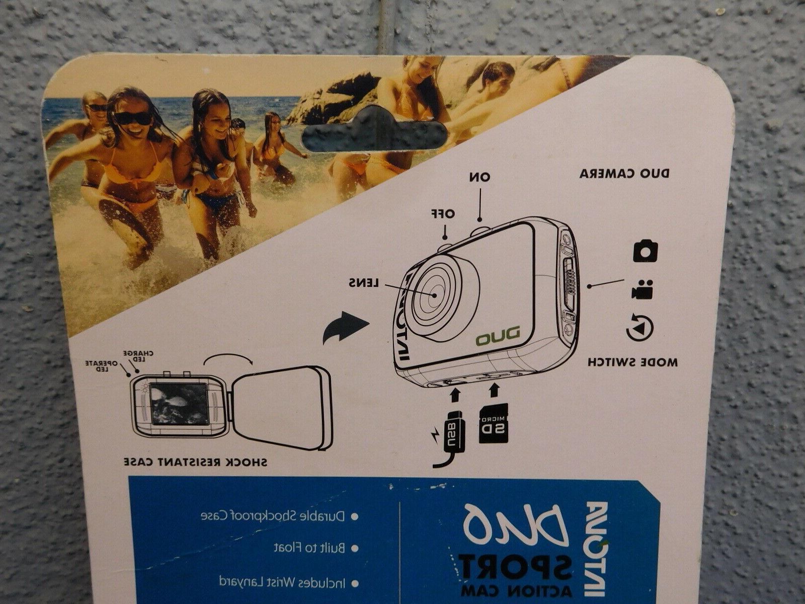 "Intova Duo Sport Action Camera HD 1.7"" Waterproof 100'"