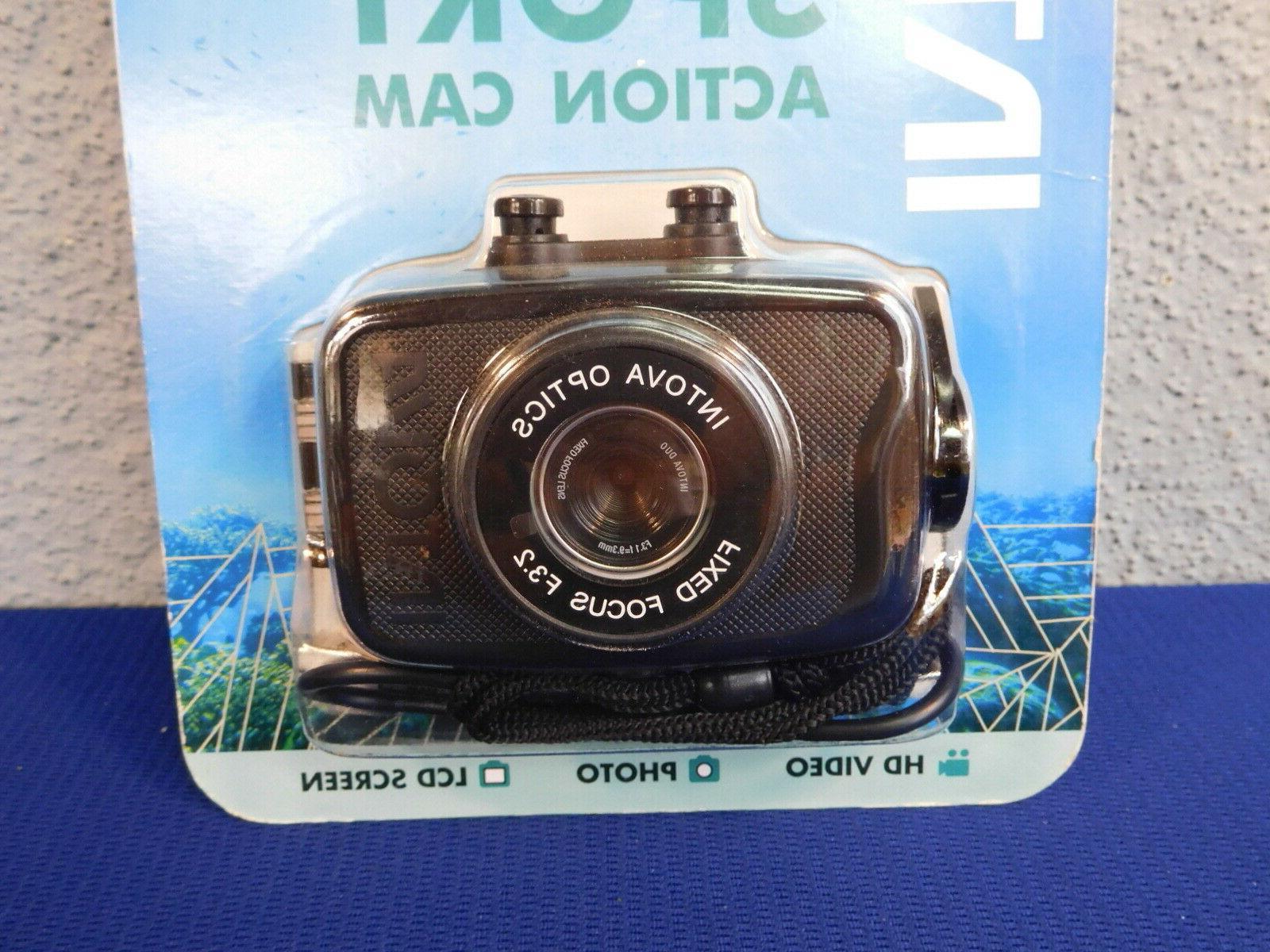 Intova Camera LCD New Package Waterproof 100'