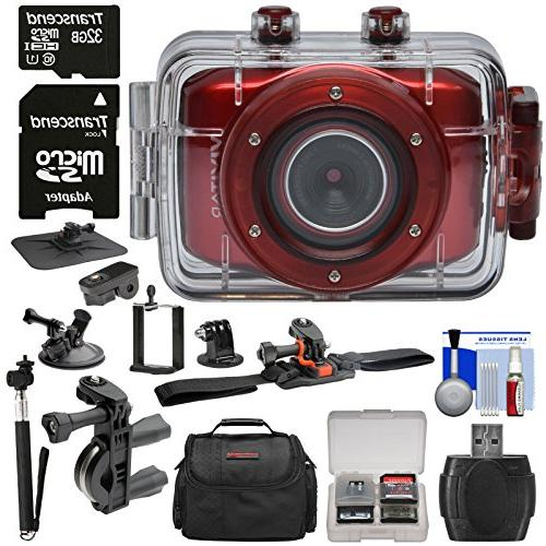 dvr783hd waterproof action camcorder