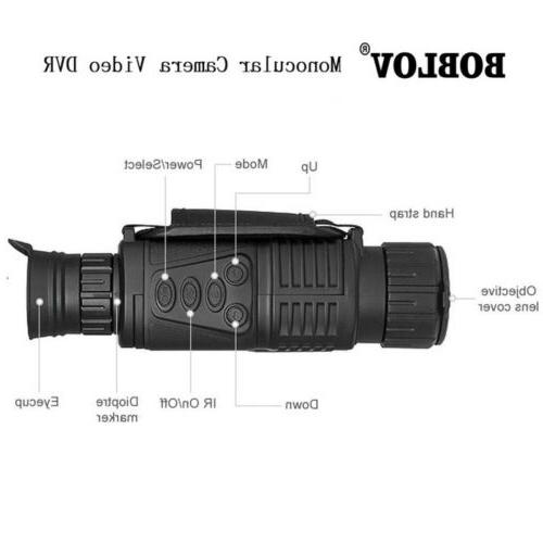 WG-37 Zoom Night Vision 5x40 Infrared Digital
