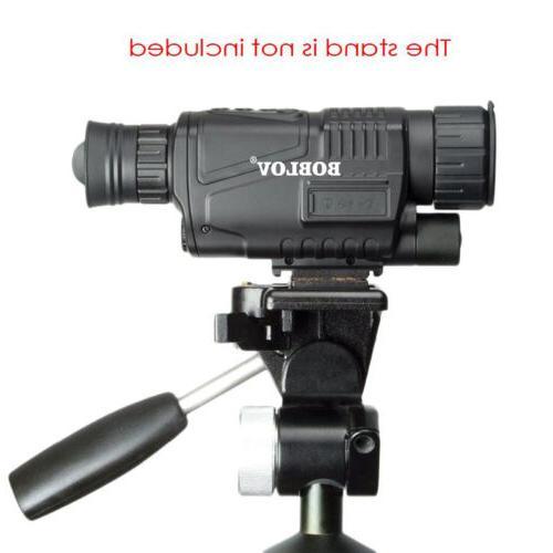 "WG-37 1.44"" Monocular Night Vision Binoculars 5x40 Infrared"