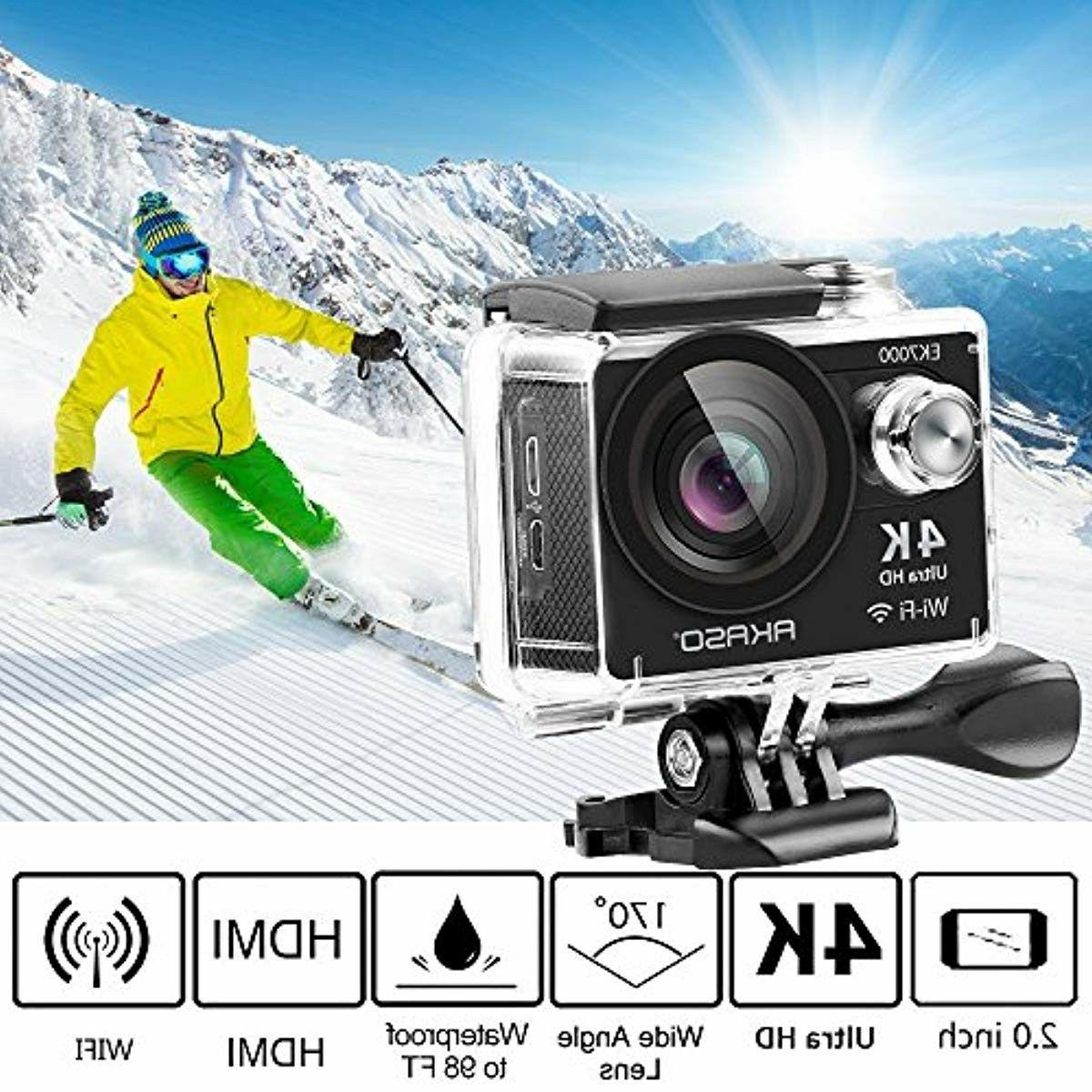 AKASO EK7000 4K WiFi Sports Action HD Waterproof 12MP