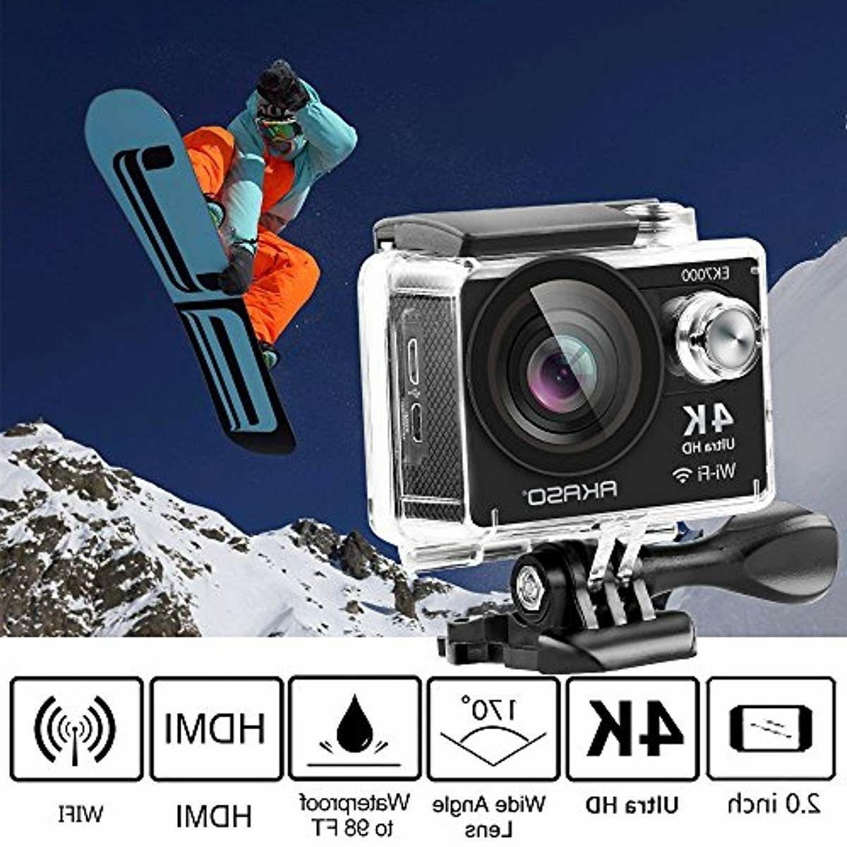 AKASO EK7000 4K Sports Ultra HD Waterproof