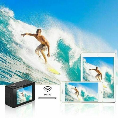 AKASO EK7000 4K Action Camera WIFI 12MP DV Waterproof