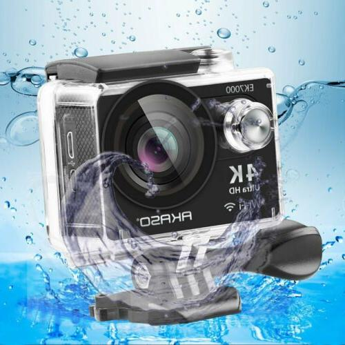 AKASO 4K Sports Camera WIFI 12MP DV Waterproof
