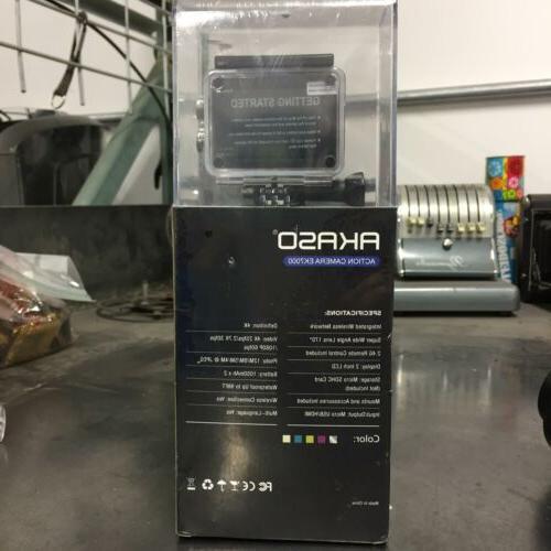 AKASO 4K WIFI Camera Waterproof DV Camcorder 12MP