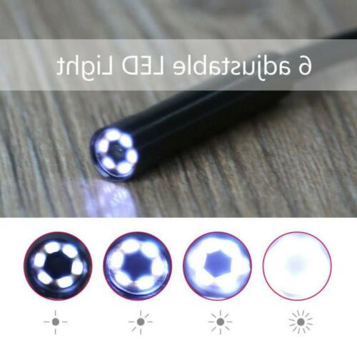 Endoscope Detection Tube HD 6LED USB Android
