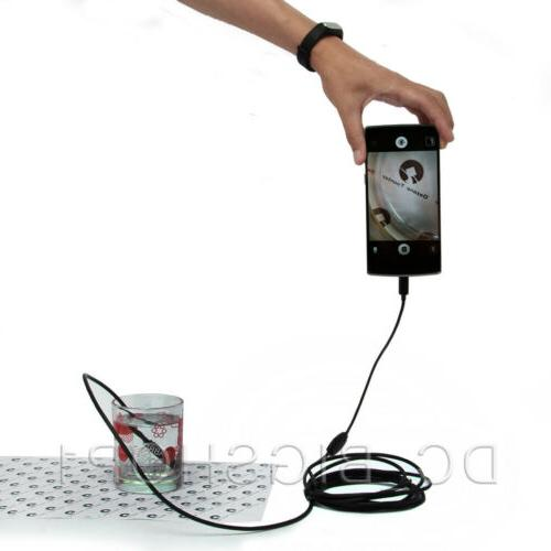Endoscope Waterproof Snake USB Inspection Camera Android Phone PC