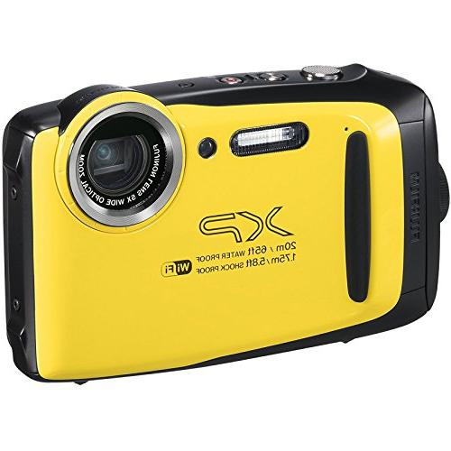 Fujifilm XP130 Shock & Waterproof Digital Camera 32GB + Cases + Dive Light + Buoy + Mount
