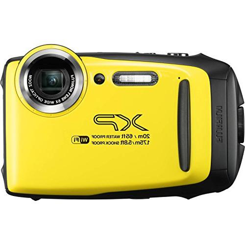 Fujifilm XP130 Shock & Waterproof Camera with 32GB + + Dive Light + Buoy Mount Kit