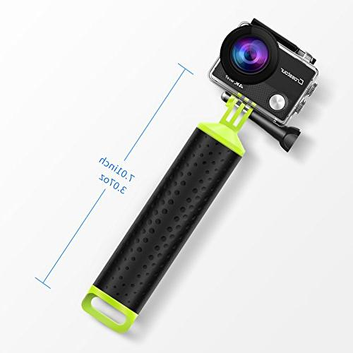 Crosstour Hand Waterproof Pole Stick Monopod, Includes Screw Adjustable Wrist