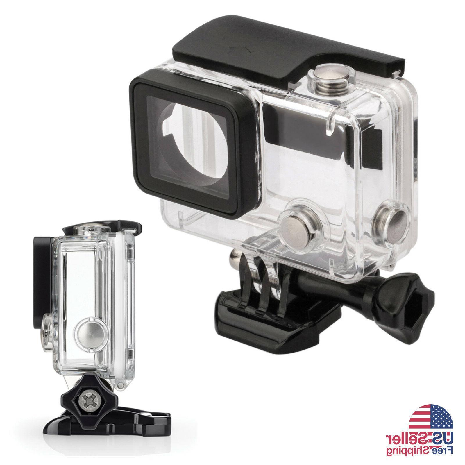 GoPro Hero Underwater Waterproof Case Housing Transparent