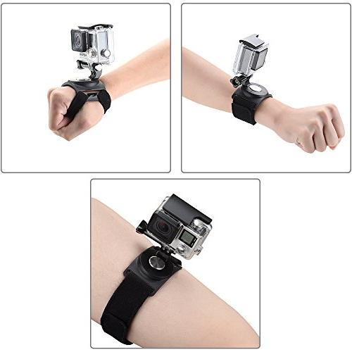 gopro wrist strap mount strip