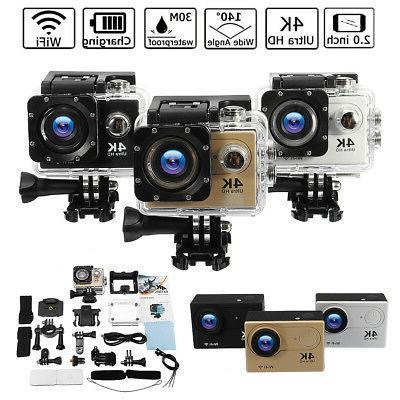 H9 LCD 4K WiFi 140° DV Action Camera US