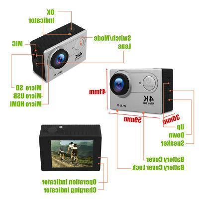 H9 Waterproof 2.0'' WiFi Action Camera