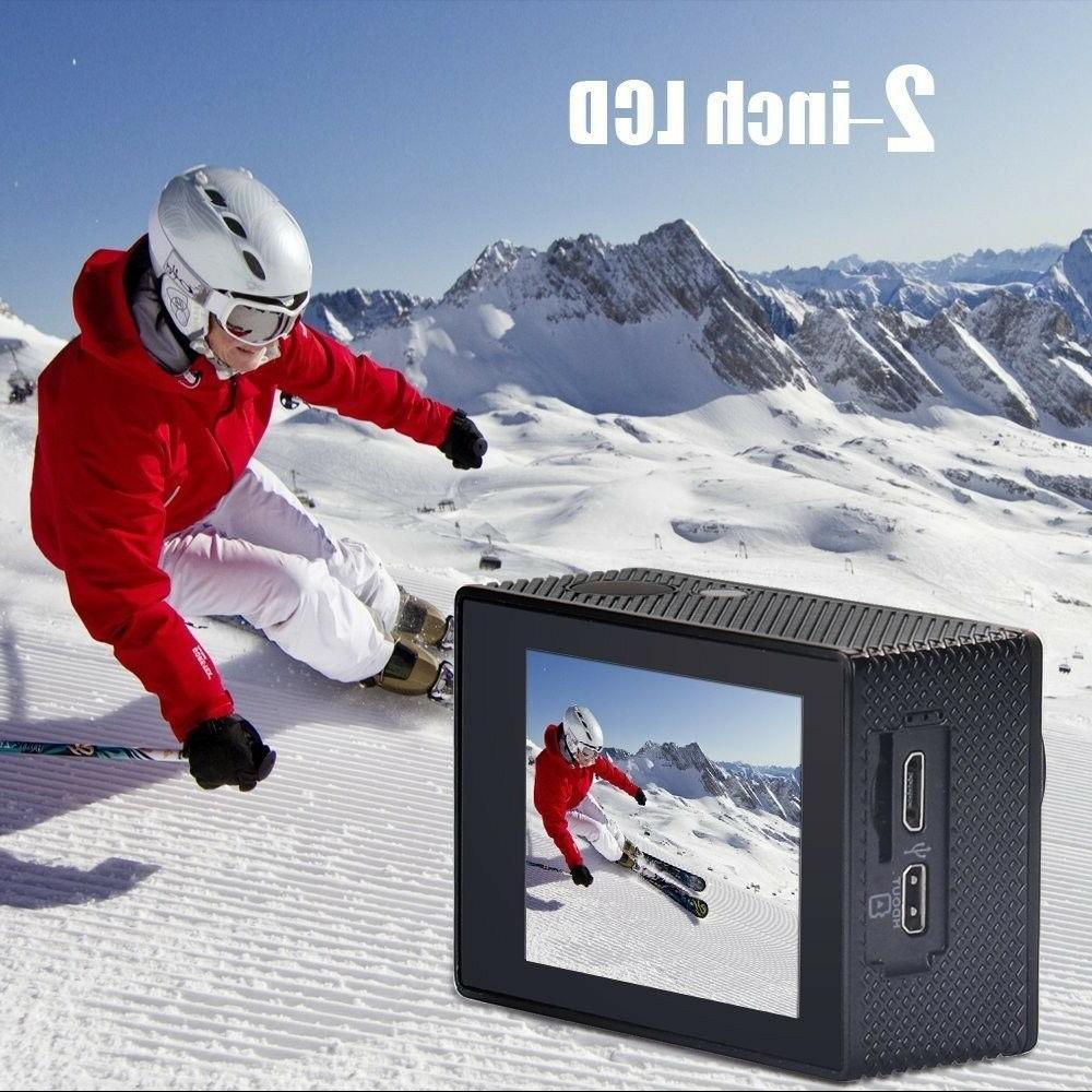 Yuntab HD 30fps 12 MP DV Action Camera WiFi