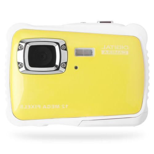 HD Digital Camera Waterproof Underwater LED For