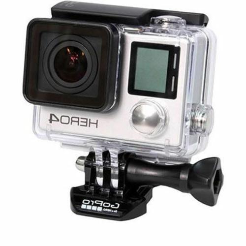 GoPro HERO4 Silver Action Camera/Camcorder + Waterproof Hous