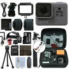 GoPro HERO6 Black Waterproof 4K Camera Camcorder + 32GB Acce