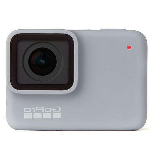 GoPro HERO7 White Waterproof Action Camera, Touch Screen,144