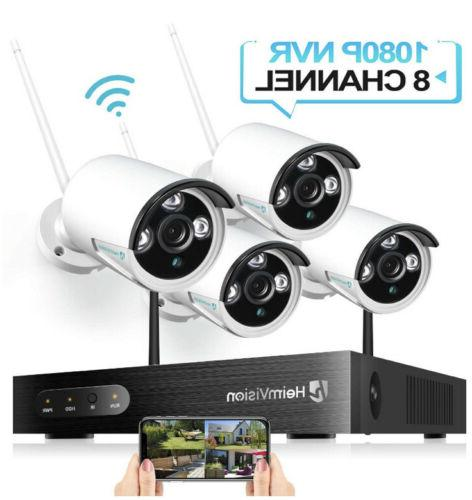 hm241a 1080p wireless security camera system