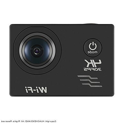 huachen wifi action camera sony sensor 16mp 100ft waterproof