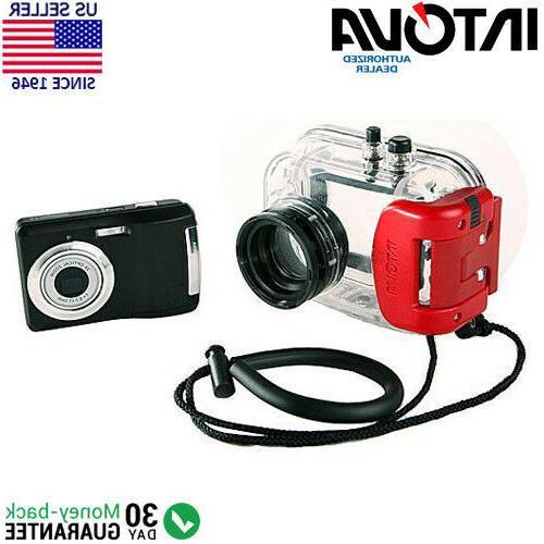 Intova IC-10 10.0 MP Digital Camera + Waterproof Housing -