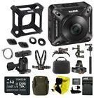 Nikon Keymission 360 Wi-Fi 4K Action Camera with 64GB card a