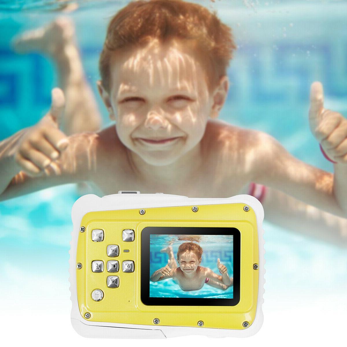 Kids Waterproof Digital 12MP Video Children Video
