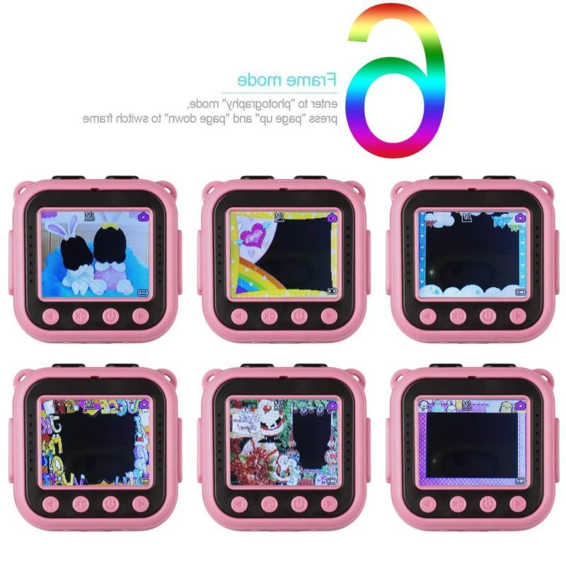 kids waterproof camera with video recorder includes