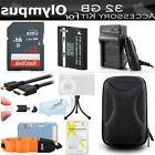 32GB Accessories Kit For Olympus TOUGH TG-1 iHS, TG-1iHS, TG