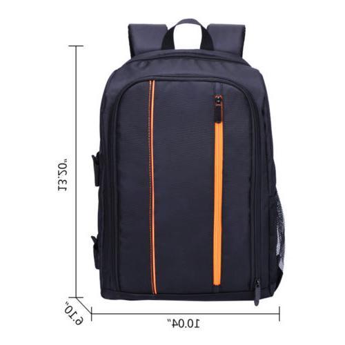 Large Camera Backpack Bag SLR Padded Canon