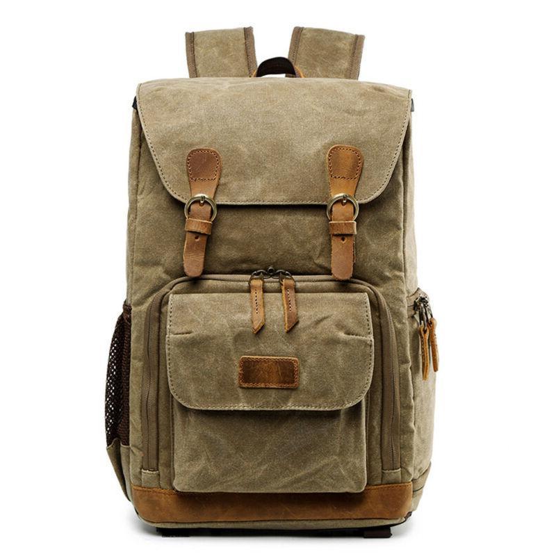 Large Bag Photography Laptop Backpack Vintage K