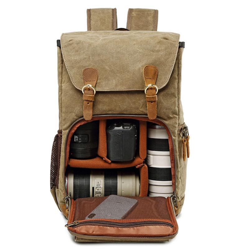 large camera bag waterproof photography laptop backpack