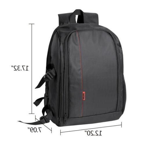 Large Waterproof Camera Backpack Shoulder Bag/Case for Nikon
