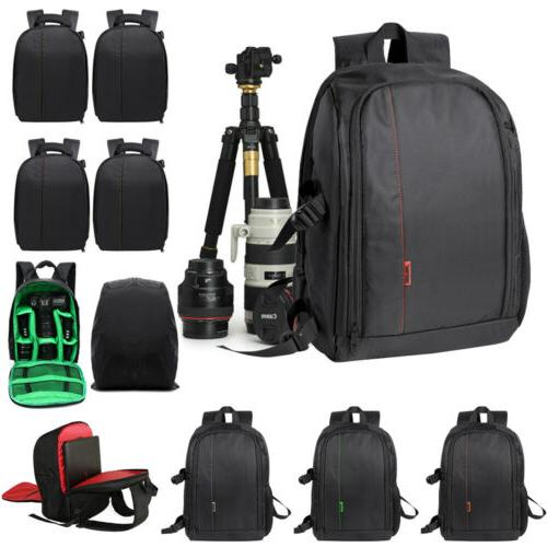 large waterproof dslr camera backpack laptop shoulder