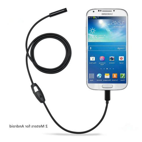 micro usb endoscope waterproof inspection camera