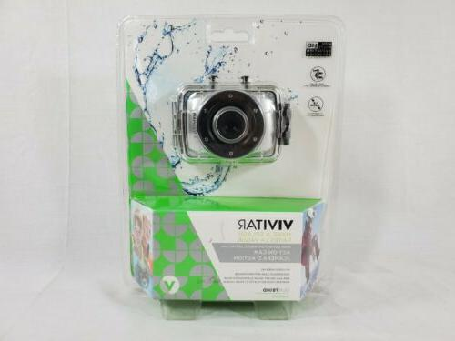 new hd action waterproof camera camcorder silver