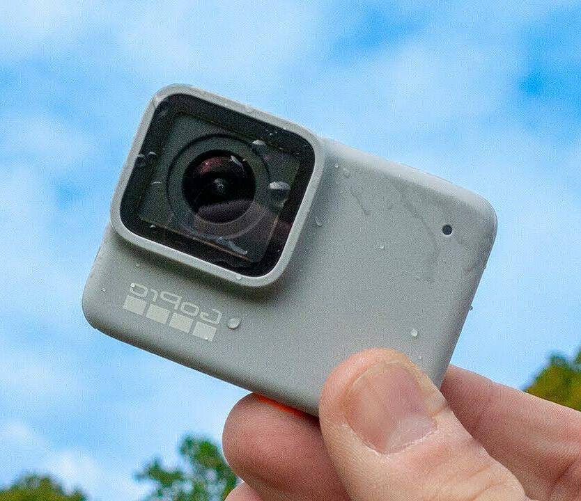 new hero 7 white waterproof action camera