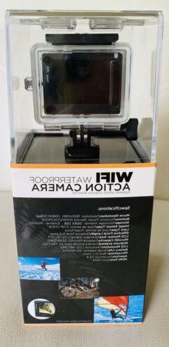 New Digital WIFI Waterproof Action Camera PAC2501 Go Pro