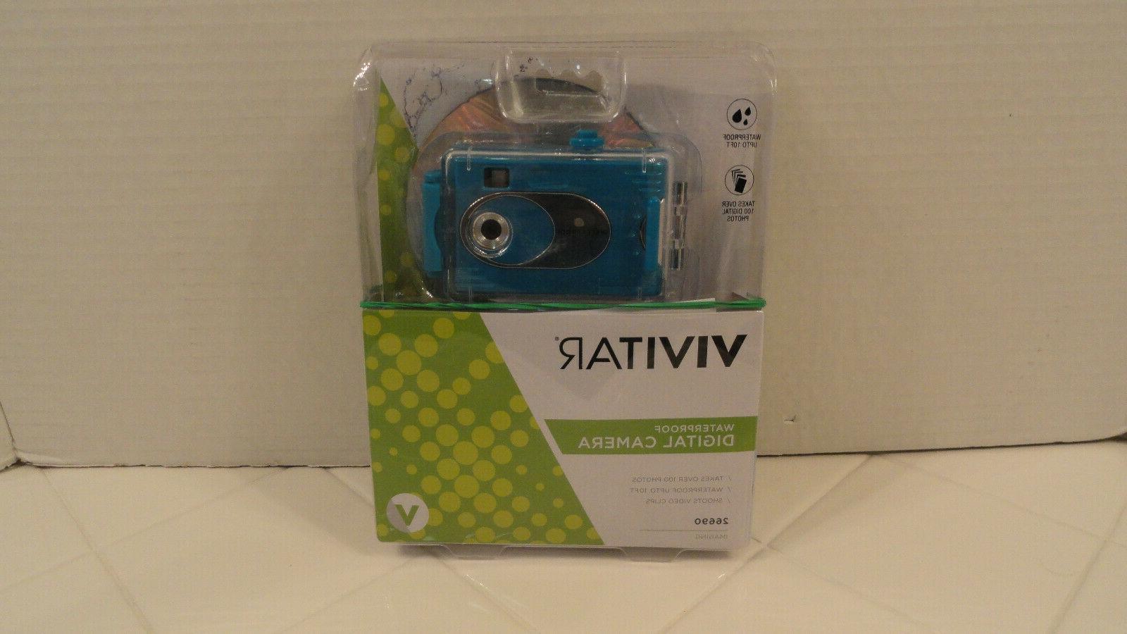 new waterproof digital camera item 26690 blue
